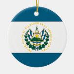 El Salvador Adorno Redondo De Cerámica
