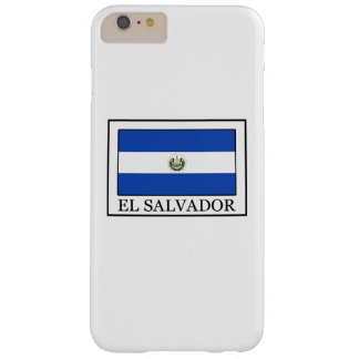 El Salvador Barely There iPhone 6 Plus Case