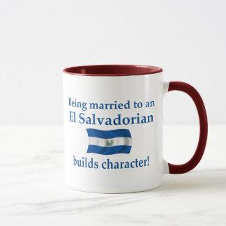 El Salvador Builds Character Mug