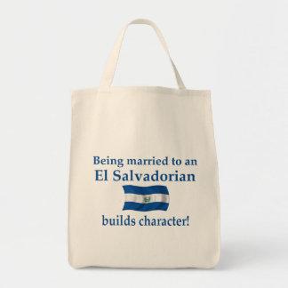 El Salvador Builds Character Tote Bag