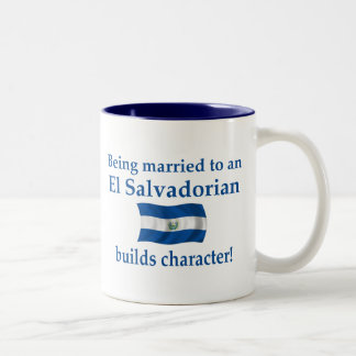 El Salvador Builds Character Two-Tone Coffee Mug