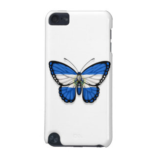 El Salvador Butterfly Flag iPod Touch (5th Generation) Cases