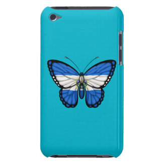 El Salvador Butterfly Flag iPod Touch Case-Mate Case