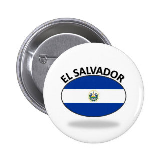 El Salvador Pinback Button