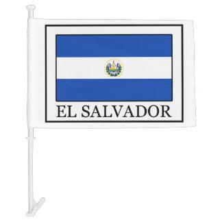 El Salvador Car Flag