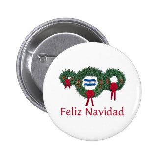 El Salvador Christmas 2 Pinback Button