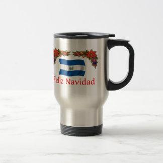 El Salvador Christmas Travel Mug