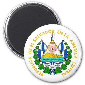 El Salvador COA 2 Inch Round Magnet