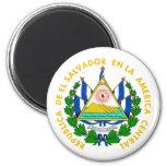 El Salvador COA Magnet