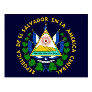 El Salvador COA Postcard