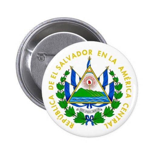 El Salvador Coat of Arms Pins
