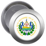 El Salvador Coat of Arms Buttons