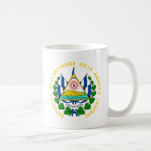 El Salvador coat of arms Coffee Mug