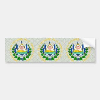 El Salvador Coat of Arms detail Car Bumper Sticker