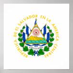 El Salvador Coat of Arms Poster
