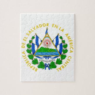 El Salvador Coat of Arms Jigsaw Puzzles