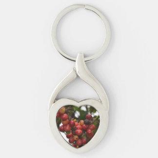 El Salvador Coffee Beans Keychain