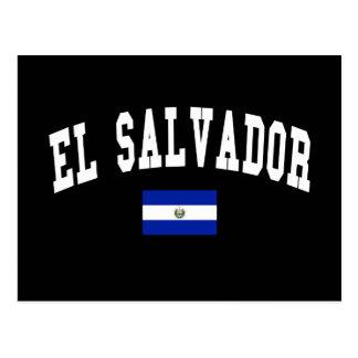 El Salvador College Style Postcard
