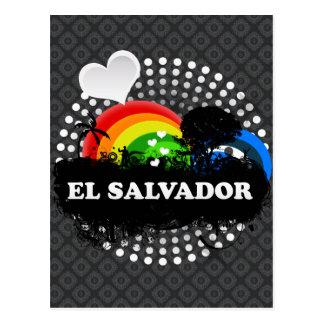 El Salvador con sabor a fruta lindo Tarjetas Postales