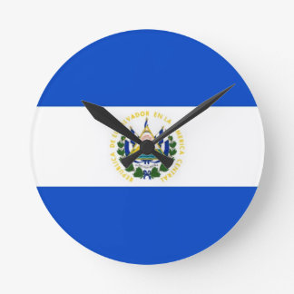 el salvador  country flag clock