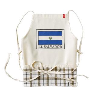 El Salvador Delantal Zazzle HEART