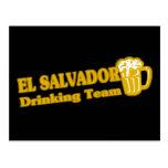 El Salvador Drinking Team Postcards