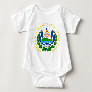 el salvador emblem baby bodysuit