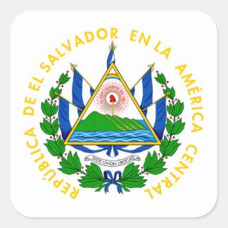 El Salvador - emblem/flag/coat of arms/symbol Square Sticker
