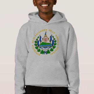 el salvador emblem hoodie