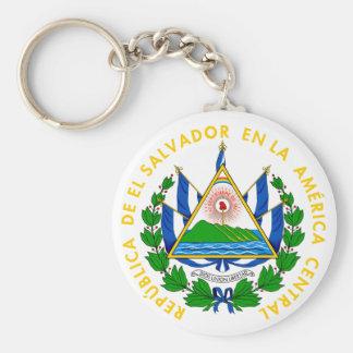 el salvador emblem keychain