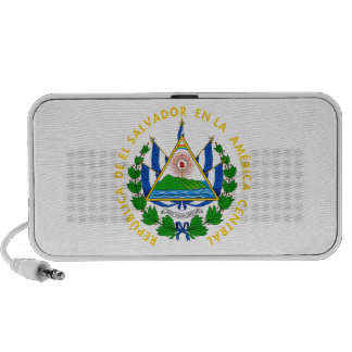 El Salvador - emblema/bandera/escudo de armas/símb iPhone Altavoz