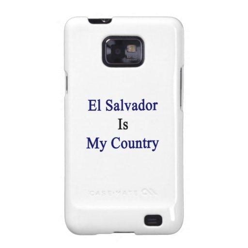 El Salvador es mi país Samsung Galaxy S2 Carcasa