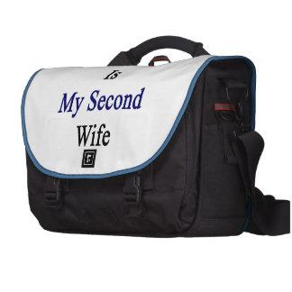 El Salvador es mi segunda esposa Bolsas Para Portátil