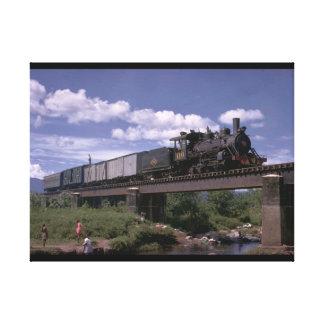 El Salvador, Fc De ES 2-8-0_Trains of the World Canvas Print