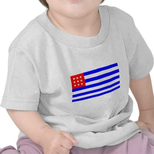El Salvador Flag (1865) Shirts