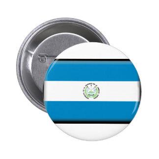 El Salvador Flag Pinback Buttons