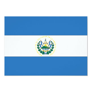 El Salvador Flag Card