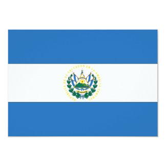 El Salvador Flag Card