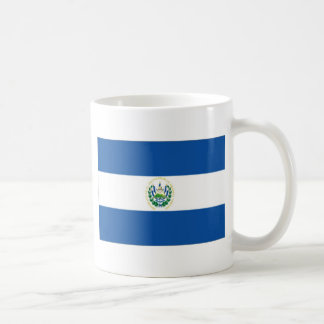 El Salvador Flag Classic White Coffee Mug