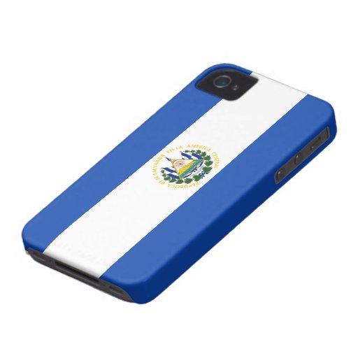 El Salvador Flag iPhone 4 Case
