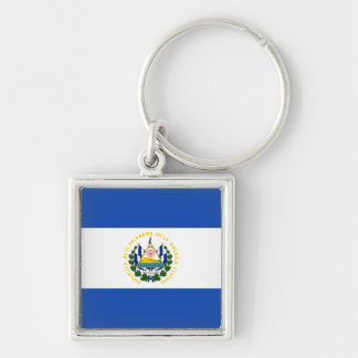 El Salvador Flag Keychain