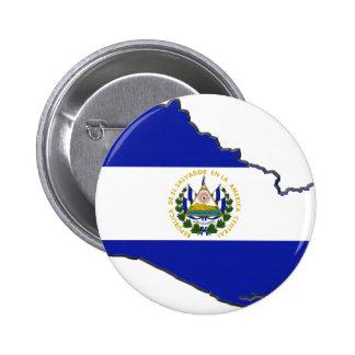 El Salvador Flag Map Buttons