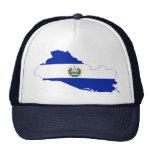 El Salvador Flag map SV Trucker Hat