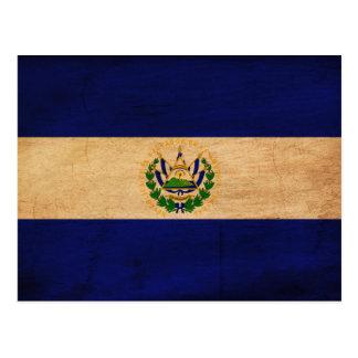 El Salvador Flag Postcard