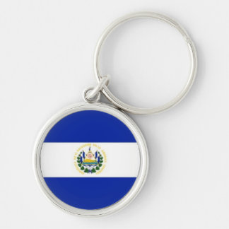 El Salvador flag premium keychain