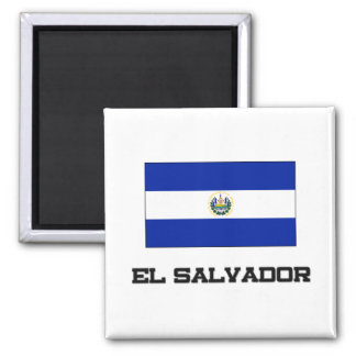 El Salvador Flag Refrigerator Magnets