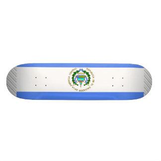 El Salvador Flag Skateboard