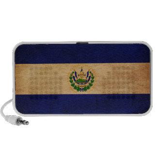 El Salvador Flag Laptop Speakers