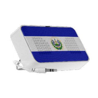 El Salvador Flag Portable Speakers