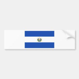 El Salvador  Flag SV Bumper Sticker